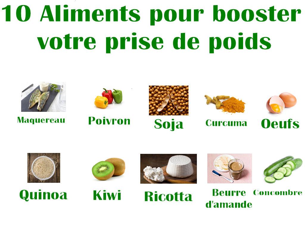 10 Aliments pour Booster votre prise de poids