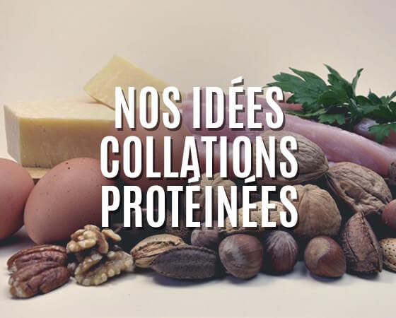 Idées de collations à base de nourriture ou compléments spécial prise de poids
