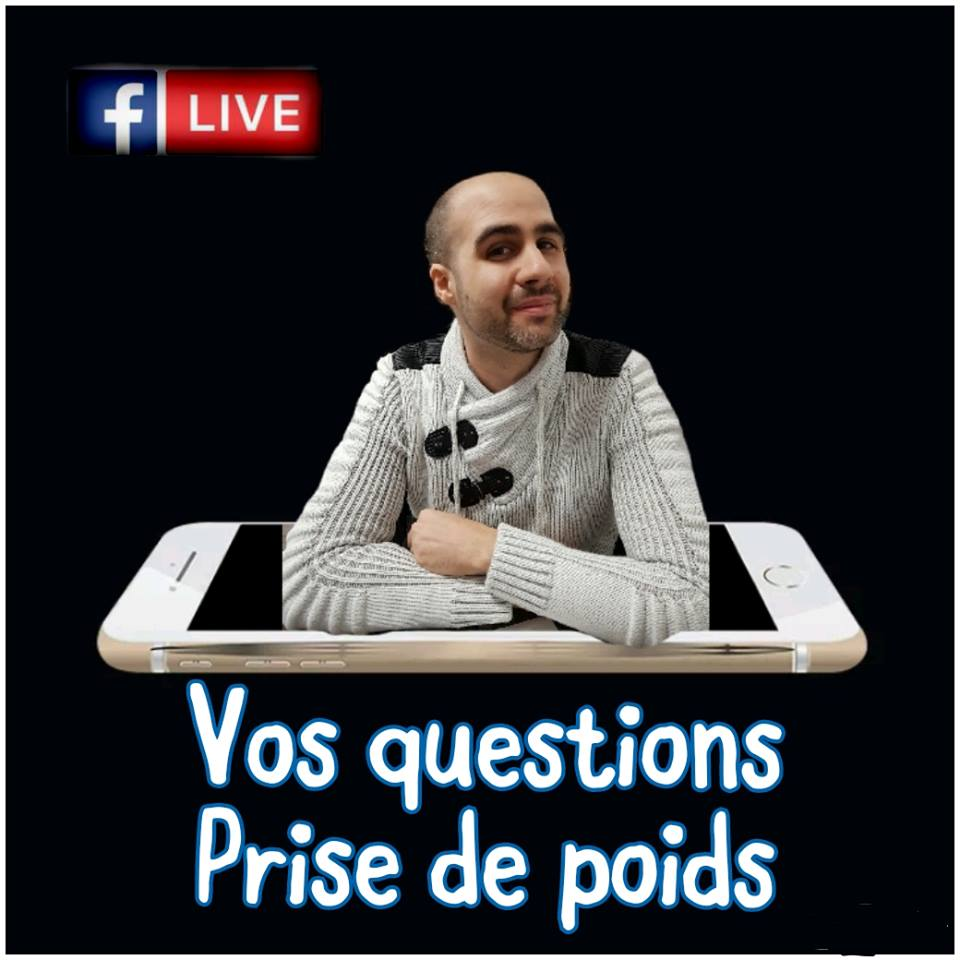 Facebook LIVE Prise de Poids tous les mercredis!