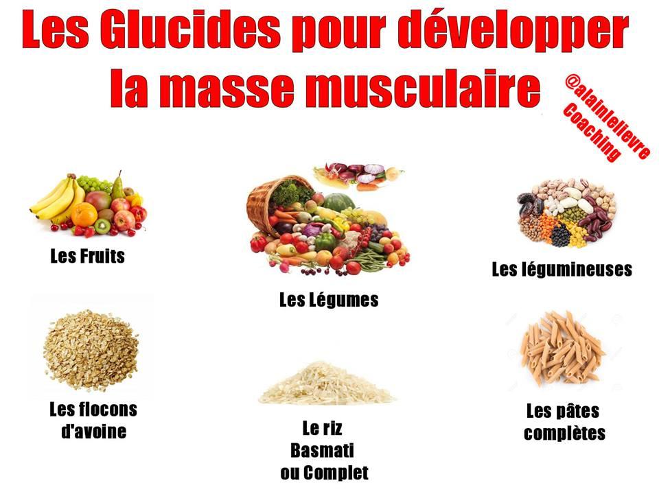 Les glucides pour développer sa masse musculaire