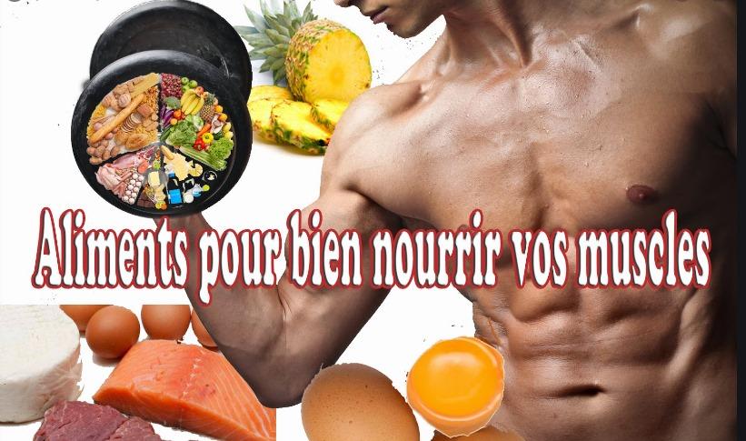 Les 15 meilleurs aliments pour prendre du muscle :