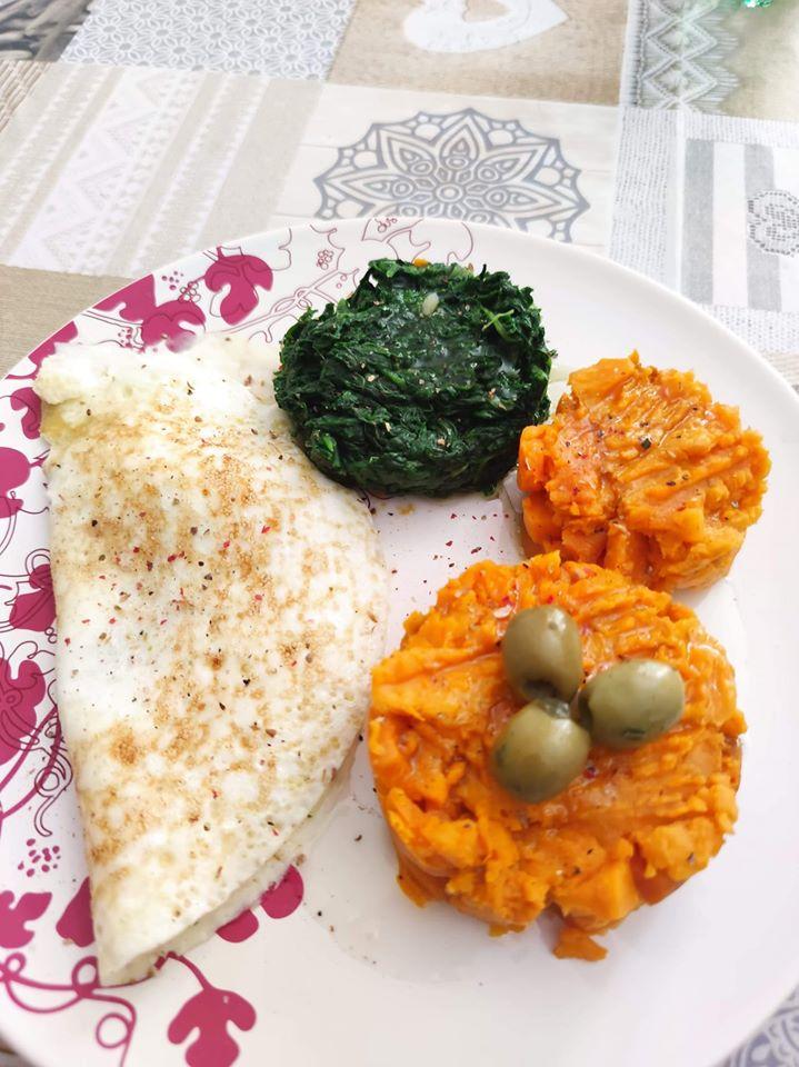 Exemple repas prise de masse